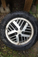 Pontiac Fiero Wheels and Tires. Set of 4