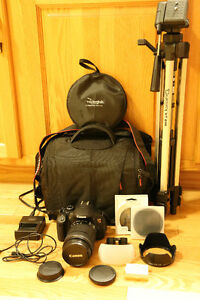 Canon T4i with Accessories