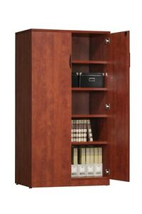 Source Furniture - Double Door Storage Cabinet