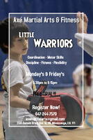 little Warriors: Program for kids of 3 to 5yrs old