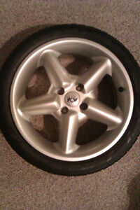Low Profile Tires on Alloy Rims