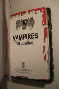 3D Vinyl Cover VAMPIRE JOURNAL / DIARY (VIEW OTHER ADS) Kitchener / Waterloo Kitchener Area image 4