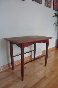 table d'appoint vintage style scandinave