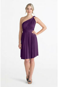 Henkaa Sakura Plum Midi Dress