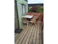 HOLIDAY HOME To let..two bedroom.. Sleeps 6.. Two minute walk to the beach!!!
