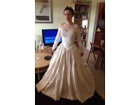 Dizzie Lizzie couture wedding gown