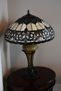 Stained Glass Table Lamps- Very heavy and handmade decorative