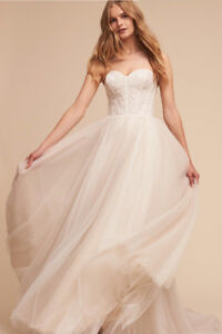 Brand new (with tags) BHLDN Rowland Wedding Gown