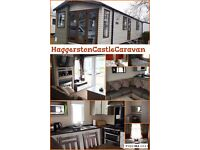 Haggerston castle caravan weekend