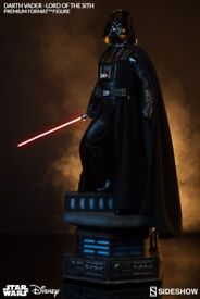 SIDESHOW COLLECTIBLES Darth Vader Lord Of The Sith Premium Format Figure Statue NEW