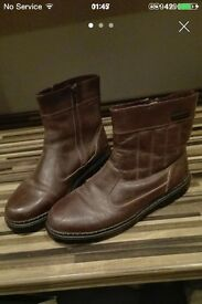 SIZE 8 MENS FROSTBITE ANKLE BOOTS