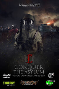Synergy Paintball and PRZ Paintball presents Conquer the Asylum