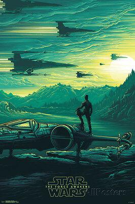 Star Wars: The Force Awakens- Takodana Sunrise Poster Print, 24x36