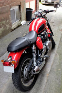 Triumph Thruxton (09) - Cafe Racer in great condition