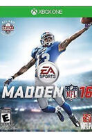 Wanted madden 16 for Xbox one