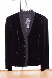 New with Tags DKNY Velvet Jacket 6 S/M- Ret. $395 USD (see tag)