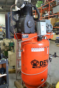 Devair 5HP Compressor/Vertical Tank  1PH