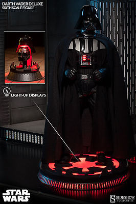 Darth Vader Deluxe Exclusive 1/6 Scale Figure - Sideshow Star Wars ROTJ Jedi