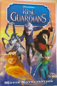 Rise of the Guardians Movie Junior Chapter Novel Book
