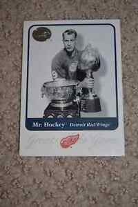 Hockey Card - Mr. Hockey