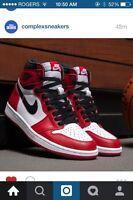 "Air Jordan I ""Chicago"" Remastered"