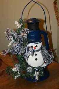 #16.  Snowman Lantern- Christmas Belleville Belleville Area image 2
