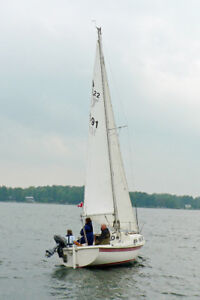 SAILBOAT TANZER 22 with TRAILER