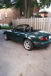 1997 Mazda MX5 (Miata) last year for body style