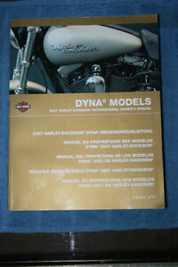 2007 Harley Davidson Dyna International Owners Manual