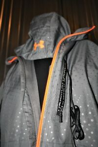 UNDER ARMOUR STADIUM JACKET WITH INTEGRAL EAR BUDS / DRAWSTRING