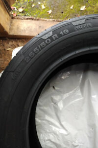 One Continental Winter Tire 255/50 R19 107H