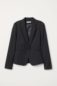 H&M Black Women's Suit Sz 4/6
