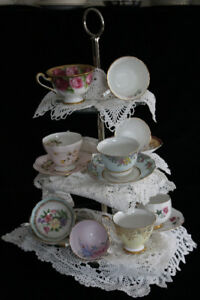 RENT VINTAGE TEACUPS FOR YOUR FUNDRAISER EVENT!