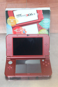 Console Nintendo New 3ds xl rouge