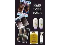 Hair loss pack