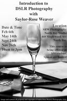 Introduction to DSLR Photography-Saylor-Rose Weaver Photography