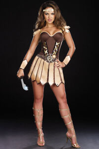 Women's Adult Trojan Warrior Halloween Costume (Large)