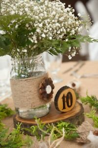 Wood Themed Wedding Decorations