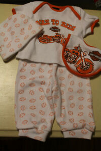 baby harley outfit in great condition
