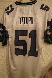 Lofa Tatupu #51 Seahawks NFL Jersey