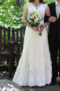 Vintage inspired wedding dress- Rayna from Ieie Bridal