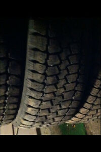 FOUR.   205:55/16.  All weather M+S tires. $120
