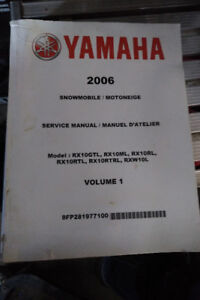 Yamaha Apex Factory Service Manual