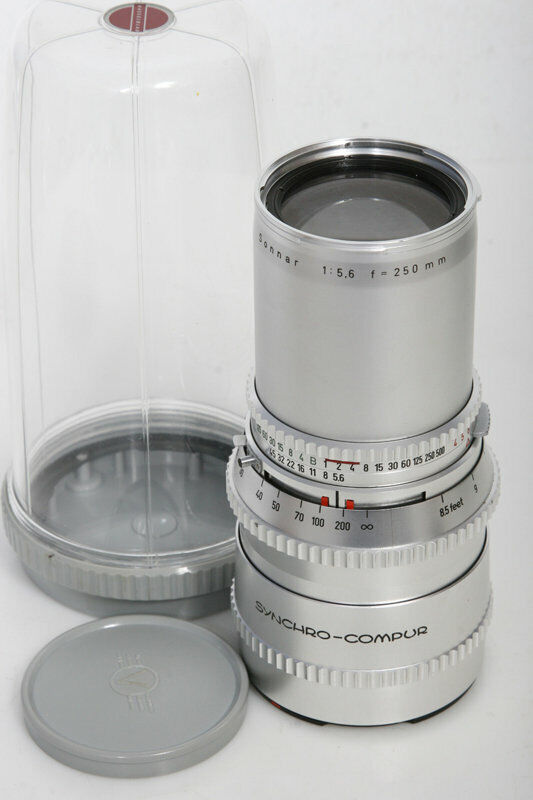 Zeiss Sonnar 250mm f5.6 Lens For Hasselblad camera 500cm etc