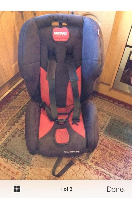 recaro young expert plus car seat and isofix base in york north yorkshire gumtree. Black Bedroom Furniture Sets. Home Design Ideas