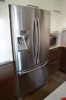 Réfrigérateur Samsung et Cuisinière Kenmore Élite