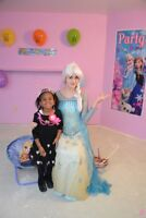 Invite Princess Elsa to your party Our Princess sings
