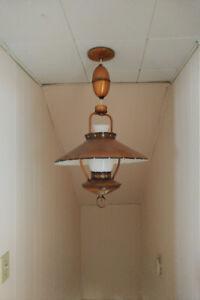 Retro ceiling light fixture