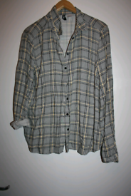 Womens size eur 36 checked shirt