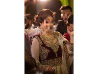 Pakistani / Indian bridal lengha wedding dress sale in London